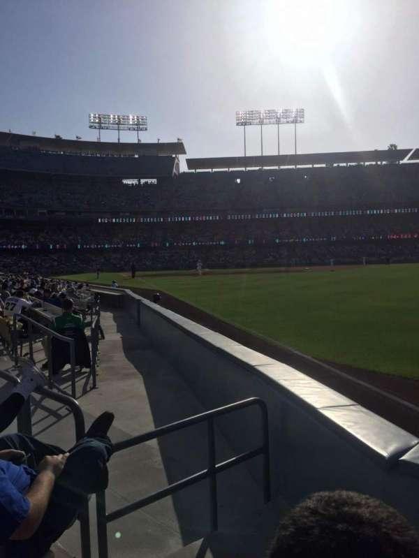 Dodger Stadium, secção: 48fd, fila: B, lugar: 2