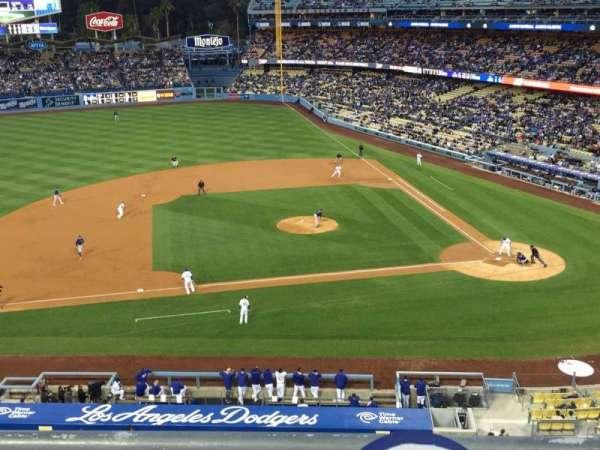 Dodger Stadium, secção: 13RS, fila: B, lugar: 15-18