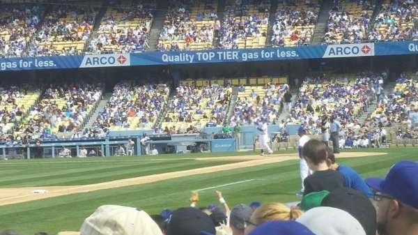 Dodger Stadium, secção: 37fd, fila: e, lugar: 7