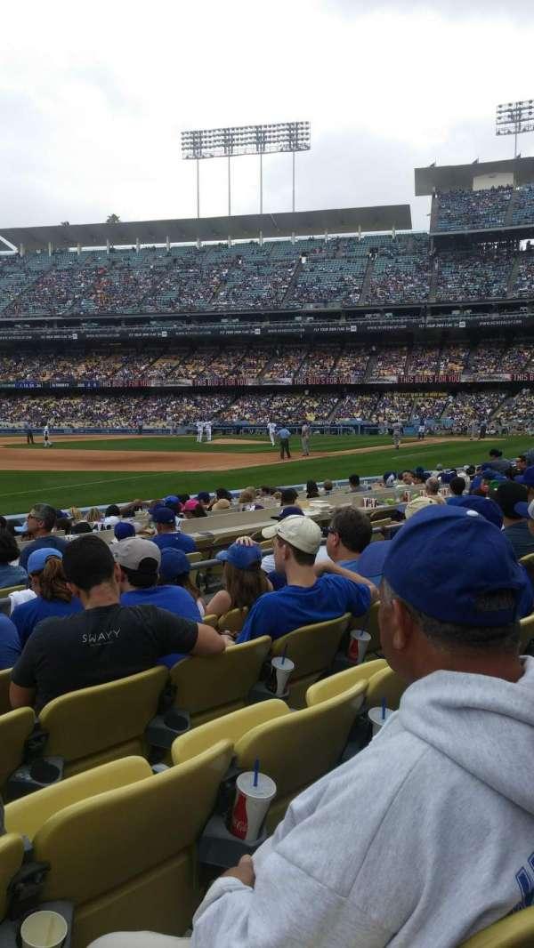 Dodger Stadium, secção: 37fd, fila: e, lugar: 8