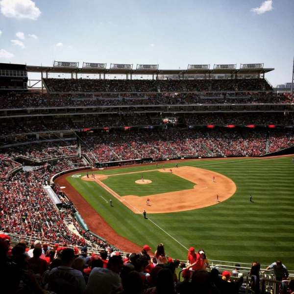 Nationals Park, secção: 228, fila: X