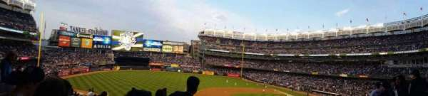Yankee Stadium, secção: 226, fila: 14, lugar: 18