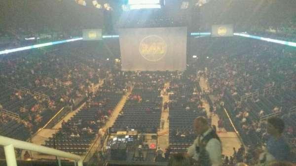 Greensboro Coliseum, secção: 222, fila: H, lugar: 14