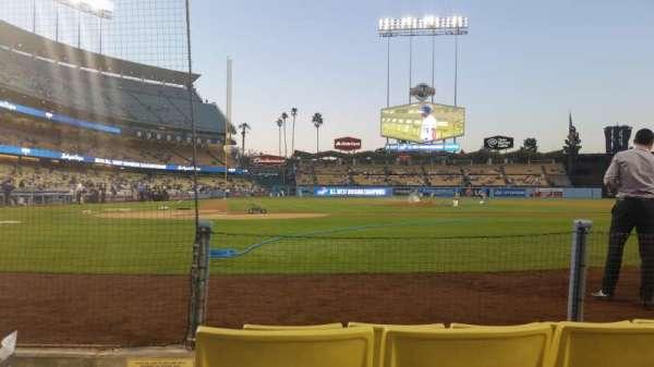 Dodger Stadium, secção: 4dg, fila: 4