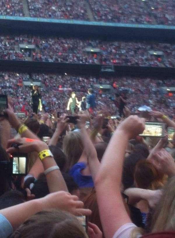 Wembley Stadium, secção: Yellow zone, fila: Floor, lugar: Standing