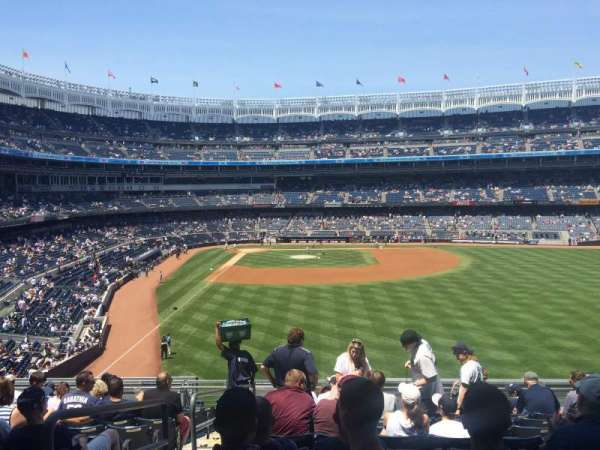 Yankee Stadium, secção: 205, fila: 12, lugar: 24
