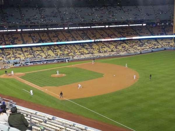 Dodger Stadium, secção: 40RS, fila: F, lugar: 21