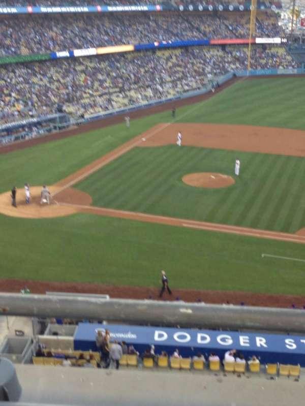 Dodger Stadium, secção: 20RS, fila: B, lugar: 2