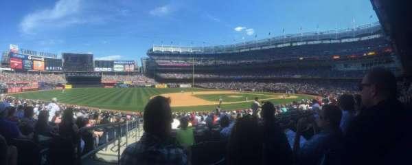 Yankee Stadium, secção: 126, fila: 24