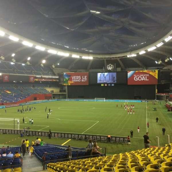 Olympic Stadium, Montreal, secção: 105, fila: Q, lugar: 21