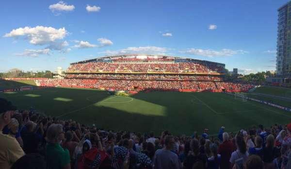 TD Place Stadium, secção: D, fila: 16, lugar: 9