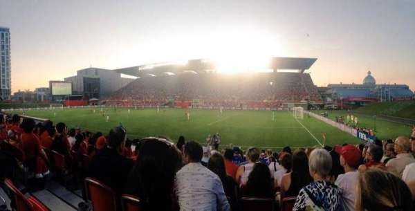TD Place Stadium, secção: n, fila: 15, lugar: 20