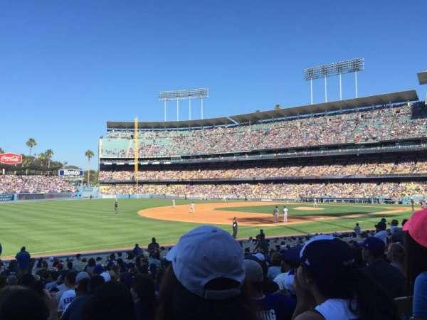 Dodger Stadium, secção: 37fd, fila: R, lugar: 8