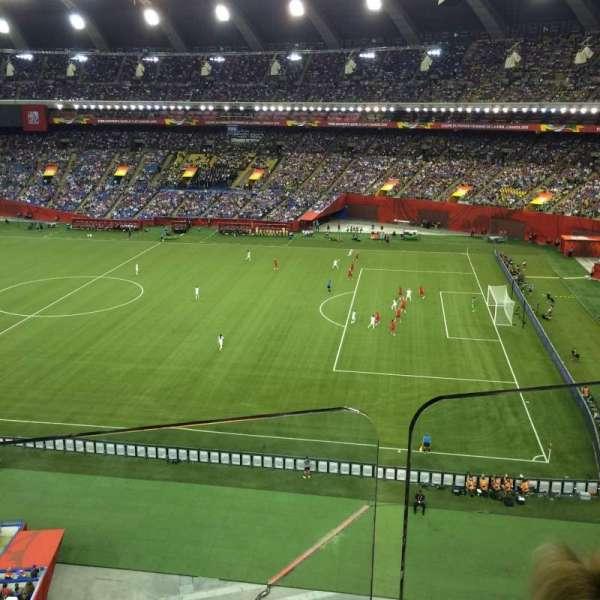 Olympic Stadium, Montreal, secção: 430, fila: BB, lugar: 4