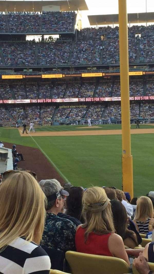 Dodger Stadium, secção: 50fd, fila: N, lugar: 10