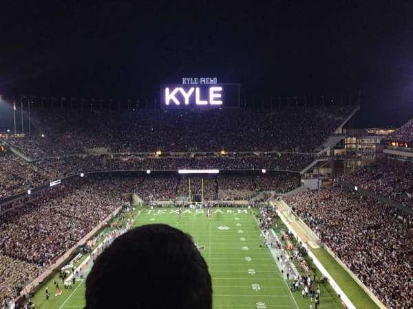 Kyle Field, secção: 511, fila: 7, lugar: 3