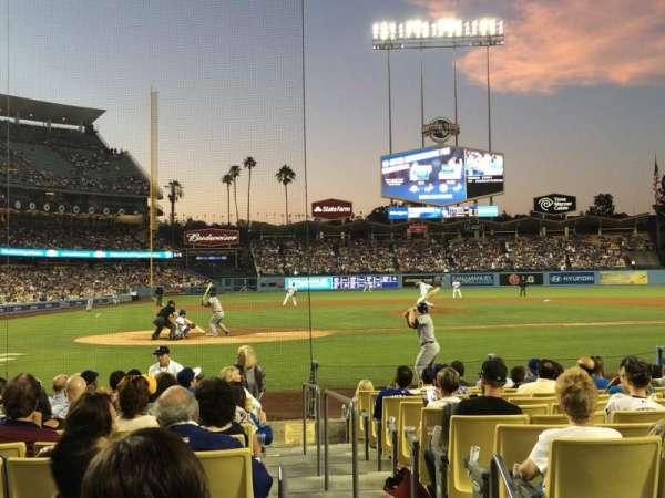 Dodger Stadium, secção: 8FD, fila: C, lugar: 9