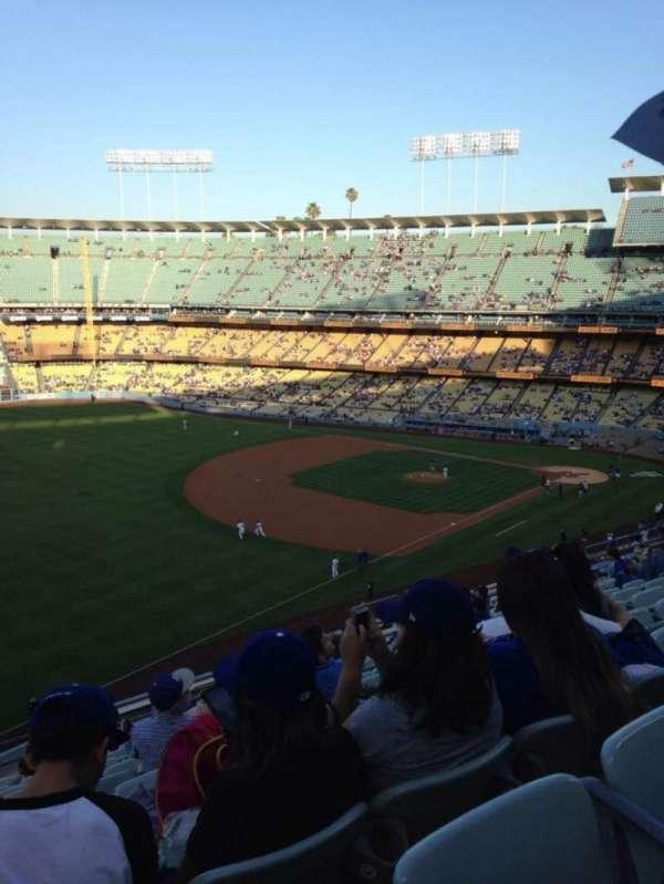 Dodger Stadium, secção: 39RS, fila: N, lugar: 15