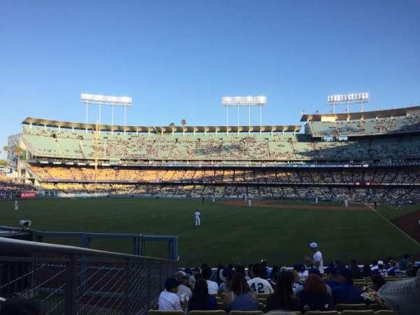 Dodger Stadium, secção: 53FD, fila: R, lugar: 7