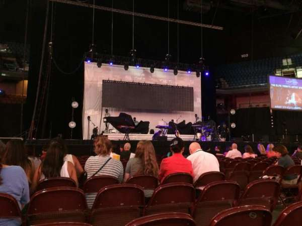Mohegan Sun Arena, secção: Floor 3, fila: N, lugar: 5