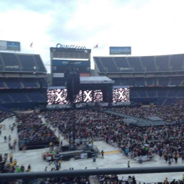 San Diego Stadium, secção: LV17, fila: 2, lugar: 6