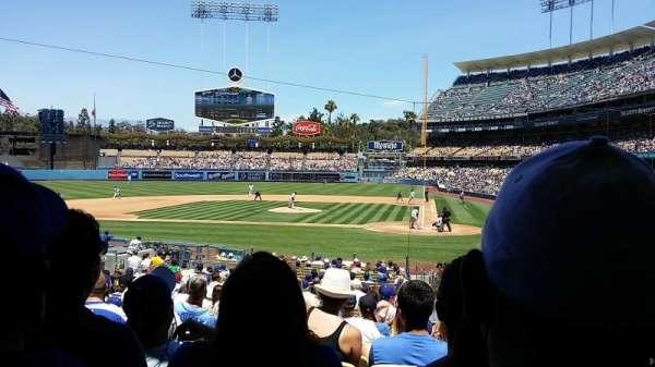 Dodger Stadium, secção: 9fd, fila: U, lugar: 8