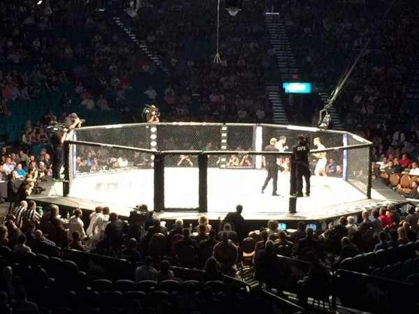 MGM Grand Garden Arena, secção: 19, fila: S, lugar: 13