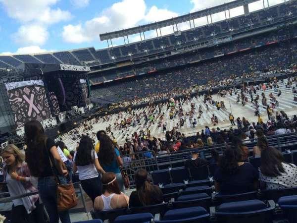 San Diego Stadium, secção: P5, fila: 7, lugar: 4