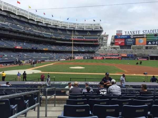 Yankee Stadium, secção: 116, fila: 19, lugar: 18
