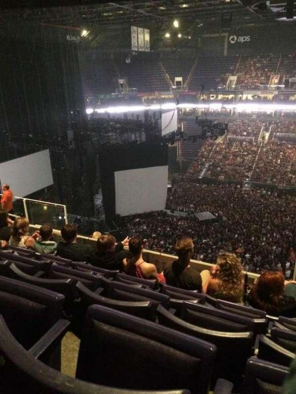 PHX Arena, secção: 219, fila: 10, lugar: 4