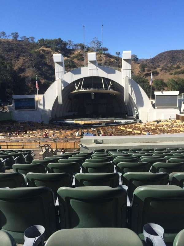 Hollywood Bowl, secção: G1, fila: 16, lugar: 25