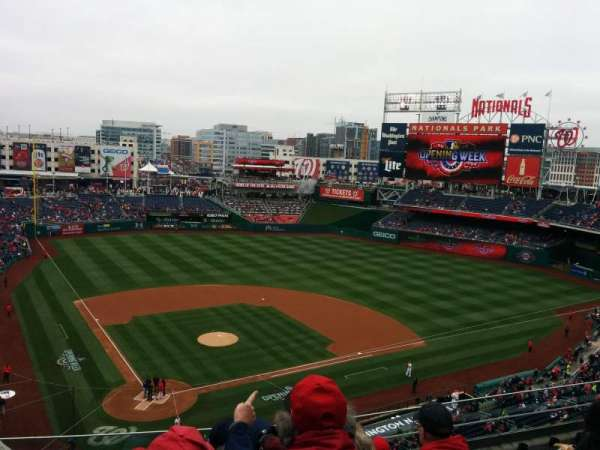 Nationals Park, secção: 316, fila: F, lugar: 14