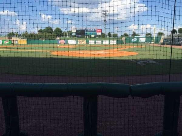 Arvest Ballpark, secção: 112, fila: B, lugar: 6
