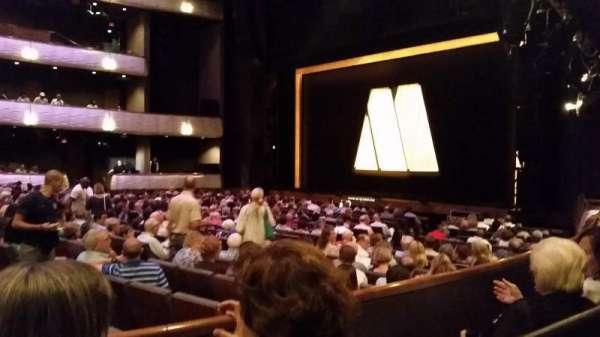 Winspear Opera House, secção: Terrace R, fila: Zz, lugar: 3