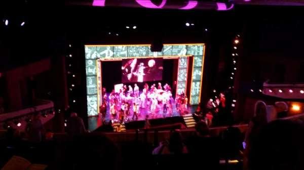 Marquis Theatre, secção: Mezzanine, fila: K, lugar: 9