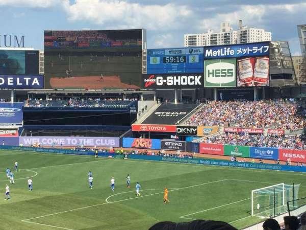 Yankee Stadium, secção: 217, fila: 6, lugar: 18