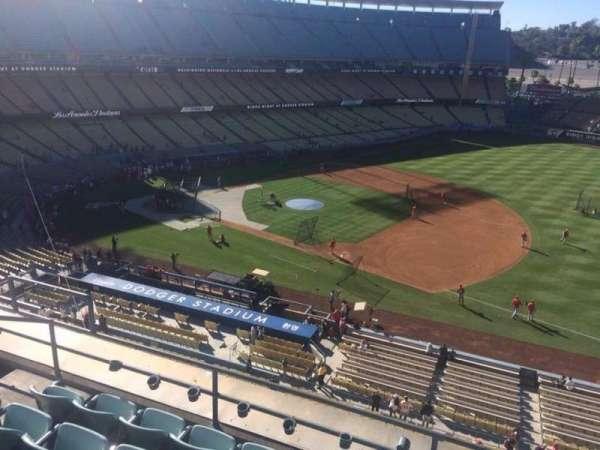 Dodger Stadium, secção: 28RS, fila: E, lugar: 6