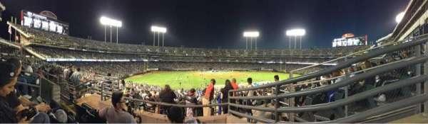 Oakland Coliseum, secção: 149, fila: 5, lugar: 7