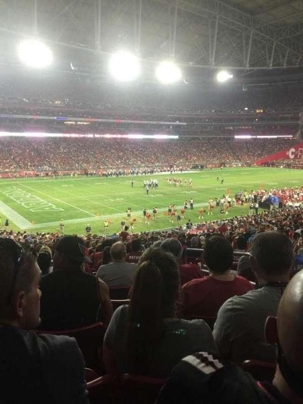 State Farm Stadium, secção: 114, fila: 39, lugar: 3