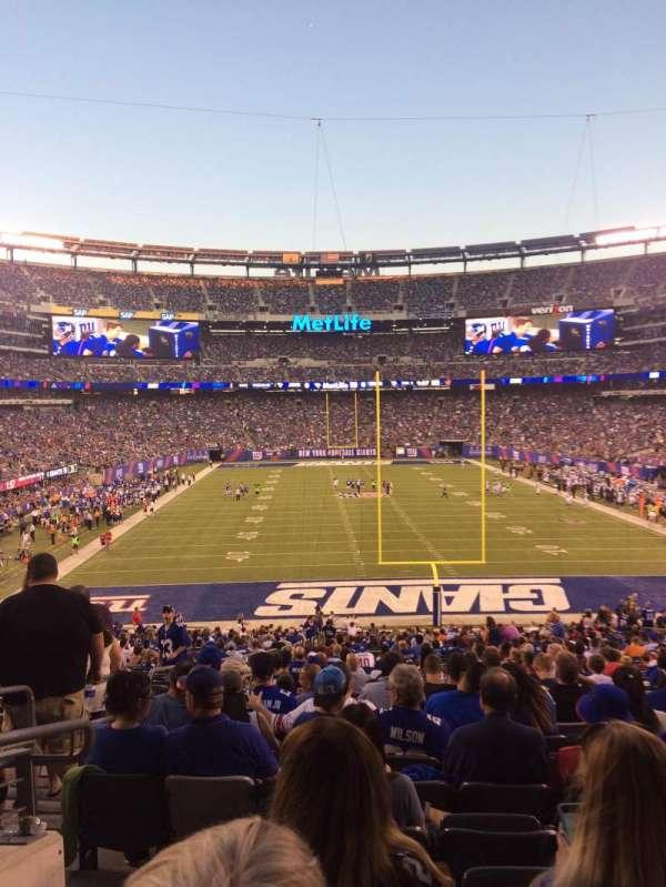 MetLife Stadium, secção: 101, fila: 39, lugar: 29