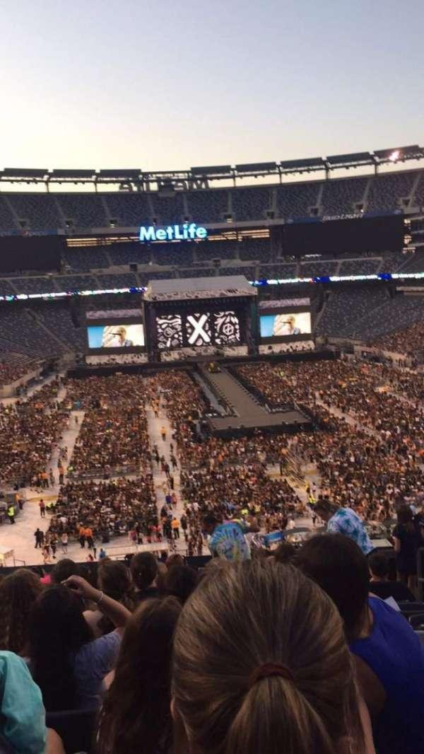 MetLife Stadium, secção: 228A, fila: 10, lugar: 4