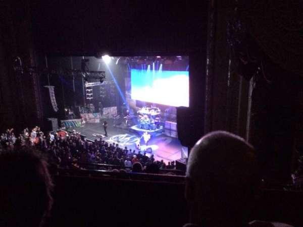 Chicago Theatre, secção: Balcony1r, fila: B, lugar: 118