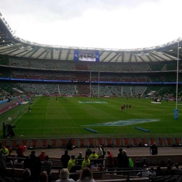 Twickenham Stadium, secção: L17, fila: 22, lugar: 196