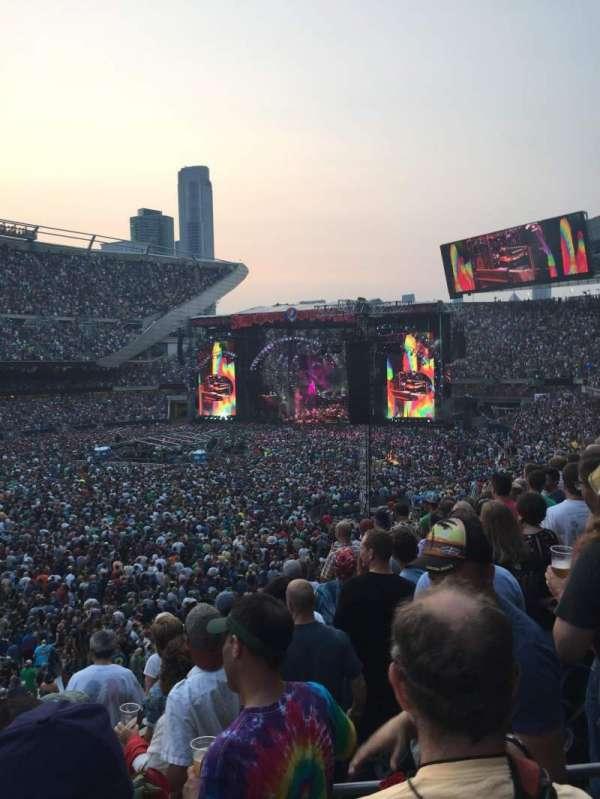 Soldier Field, secção: 214, fila: 6, lugar: 14