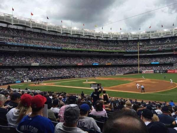 Yankee Stadium, secção: 114a, fila: 24, lugar: 7