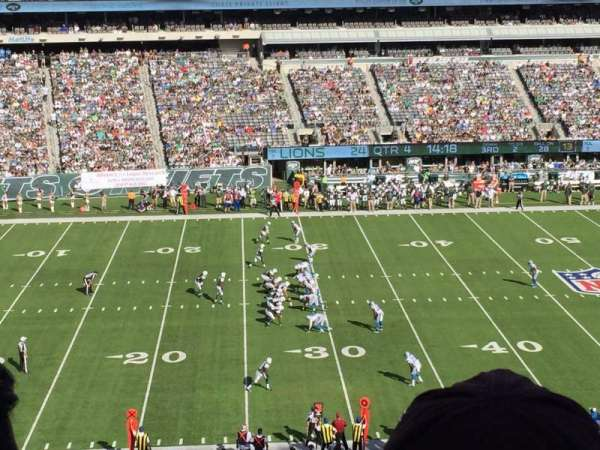 Metlife Stadium, secção: 241, fila: 3, lugar: 7