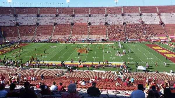 Los Angeles Memorial Coliseum, secção: 6L, fila: 63, lugar: 11