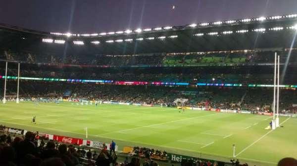 Twickenham Stadium, secção: L21, fila: 28, lugar: 82