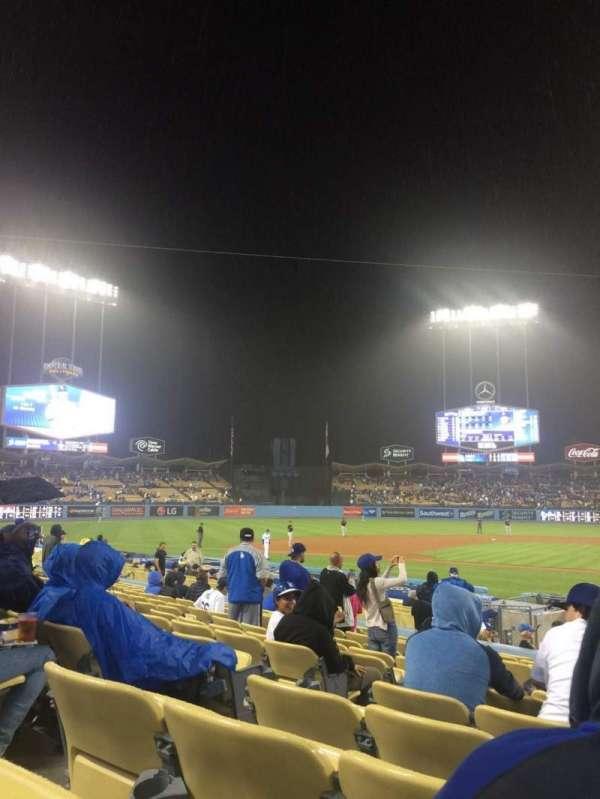 Dodger Stadium, secção: 13FD, fila: N, lugar: 3