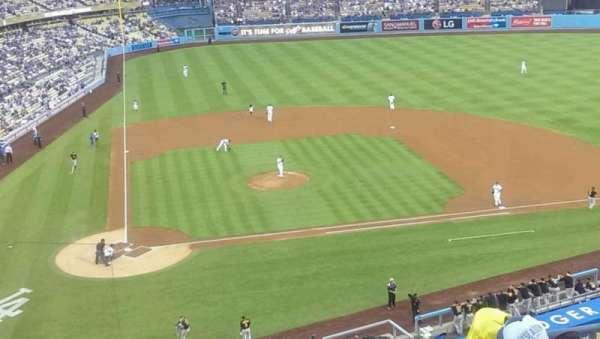 Dodger Stadium, secção: 8, fila: f, lugar: 13